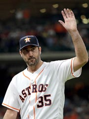 "Justin Verlander on facing the Tigers on Sunday: ""It's going to be interesting. ... I am looking forward to it."""