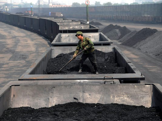 Leveling the coal in China