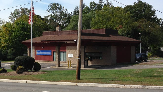 Formerly a bank branch, this building on Route 46 would be suitable for many uses.