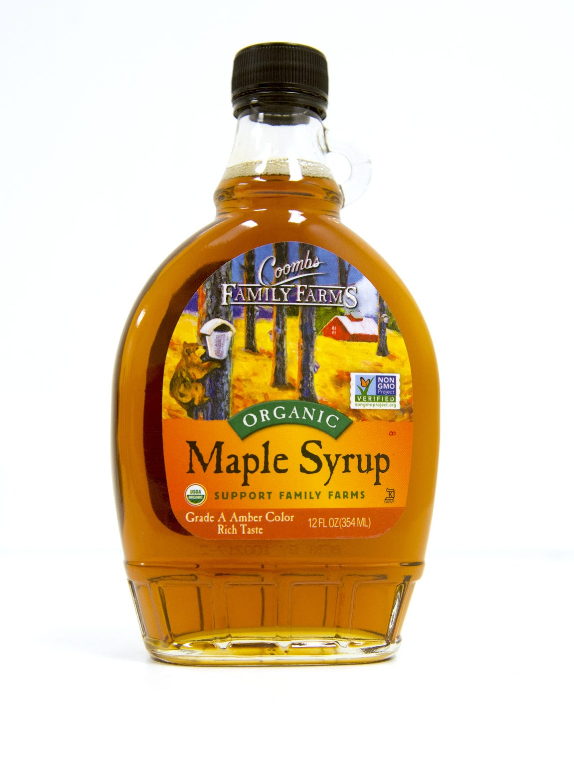Coombs, maple syrup, organic, Vermont — purchased at