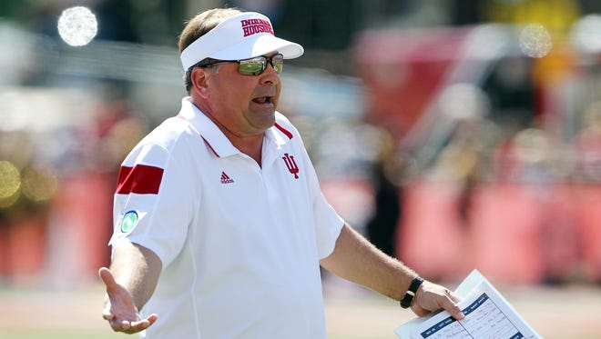 Have injuries to QBs given IU coach Kevin Wilson a pass this season?