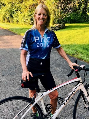 Ellen Fisher, a longtime York resident, has been involved in the Pan Mass Challenge for the past 28 years, raising more than $261,000.