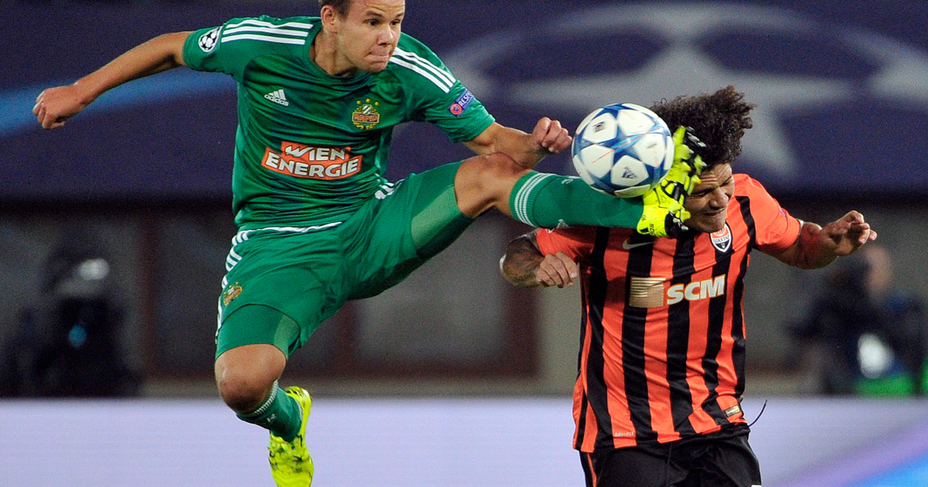 256d21593f Shakhtar beats Rapid Vienna 1-0 in Champions League playoff