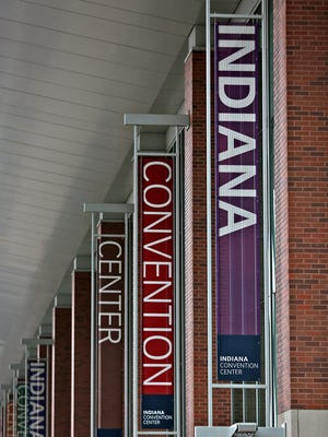 The Indiana Convention Center is one of the largest in the U.S., according to its website. A feasibility study will consider whether to expand the convention center for the second time since 2011.
