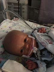 Carson James Ludka has been waging a battle for his life since being born Nov. 30.