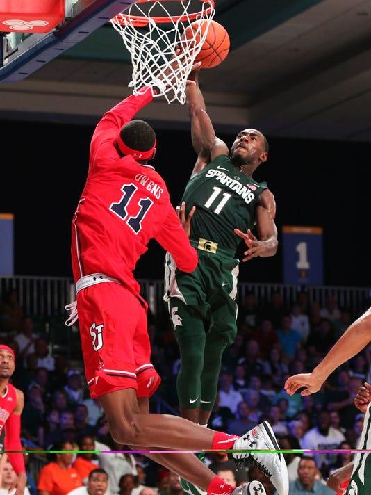 NCAA Basketball: Battle 4 Atlantis-Michigan State vs St. John's