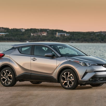 2018 Toyota C-HR is a spunky little crossover