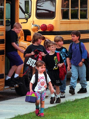 Be prepared for back to school traffic 7 to 9 a.m. LCS school buses will be making 3,000 stops in the morning.
