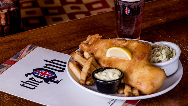 The Pub recently was awarded the title of Best Fish & Chips in the U.S. based on batter consistency, fish freshness, perfect chip texture and how well the dish complemented a popular British ale, the Old Speckled Hen.