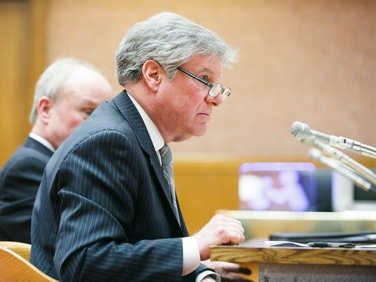 Steve Doell, president of Crime Victims United of Oregon,