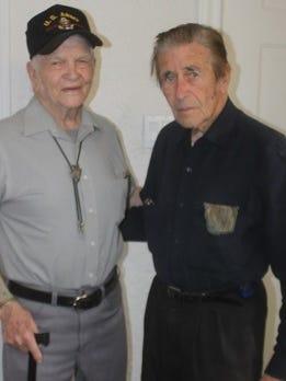 Pictured: Bill Fuson and Bob Scholl.