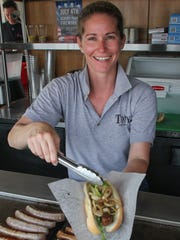 Kristina Bannon is the third-generation owner of Tony's Sausage, Dogs and Cheese Steaks on the Asbury Park boardwalk.