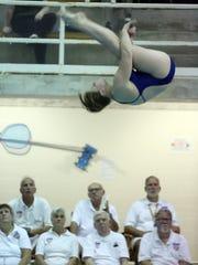 Jennifer Bell of Pelham High School competes during