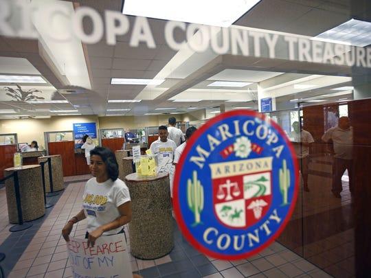 The Maricopa County Treasurer's Office