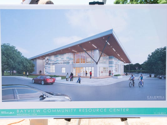 Bayview Community Center groundbreaking