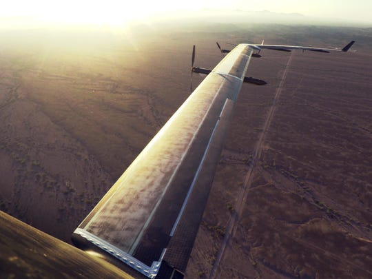 The solar-powered aircraft has the wingspan of a Boeing
