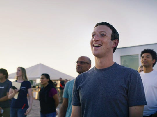 Facebook CEO Mark Zuckerberg is determined to connect