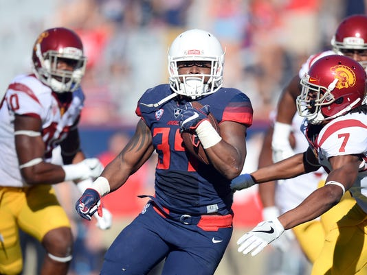NCAA Football: Southern California at Arizona