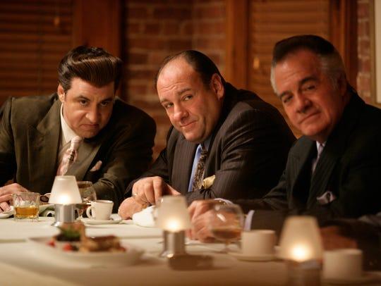 "A scene from HBO's ""Sopranos"" final season:   Steven"