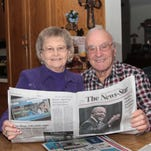 Helen and Ernest Lewis have been The News-Star subscribers since 1958. They begin their morning at the dining table with a cup of coffee and The News-Star.