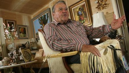 Attorney Tom Diamond has spent decades serving the Tigua Indians.