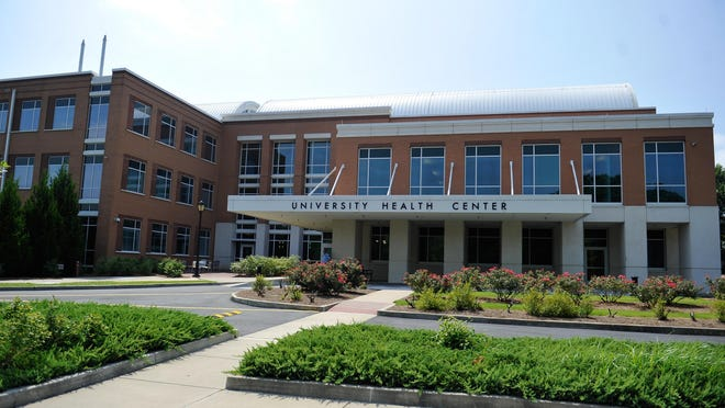 The University Health Center on the University of Georgia campus. The Health Center will begin posting a weekly summary of results from UGA's new surveillance testing program for COVID-19. [File photo}