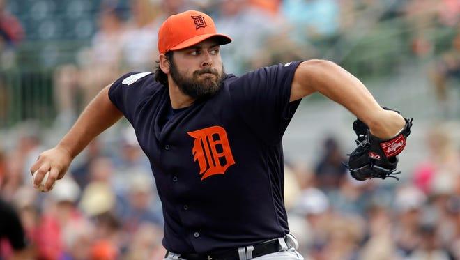 Detroit Tigers' Michael Fulmer.