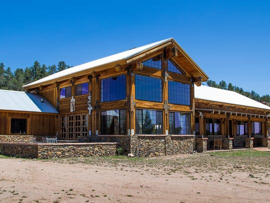 The main building at the Terra Farm + Manor, 32 miles