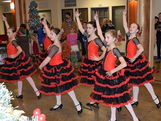 "Dancers in the Redding City Ballet's 'The Nutcracker"""