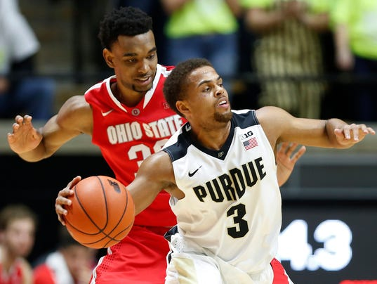 LAF Purdue men's basketball Ohio State
