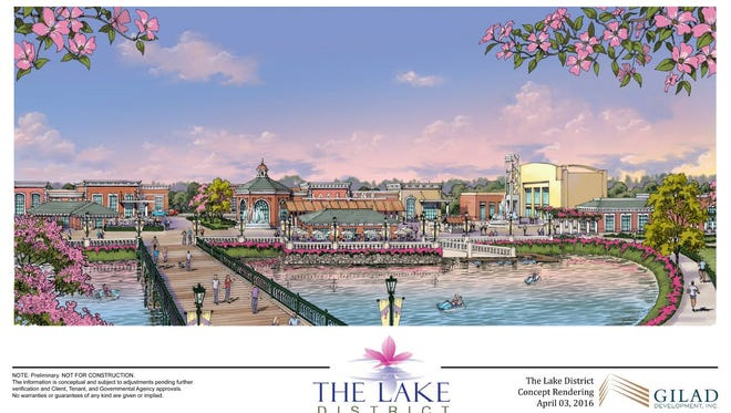 The Lake District rendering