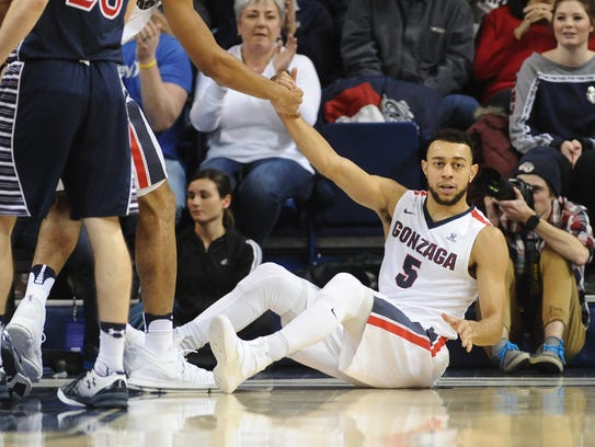 5. Junior guard Nigel Williams-Goss, Gonzaga Bulldogs.