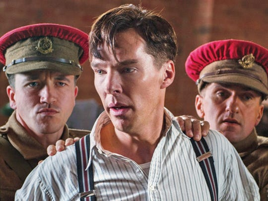 "Benedict Cumberbatch as cryptologist Alan Turing in ""The Imitation Game."""