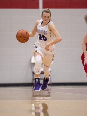 FILE – Allison Bosse scored 15 points in Brownsburg's sectional title win over Plainfield on Saturday.