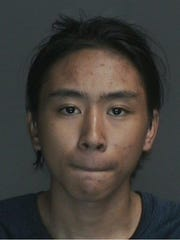Angel Alvarado, 17, was charged with two counts of