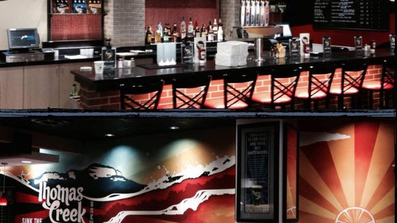 Thomas Creek Grill and RJ Rockers Flight Room will offer new eating options at GSP.