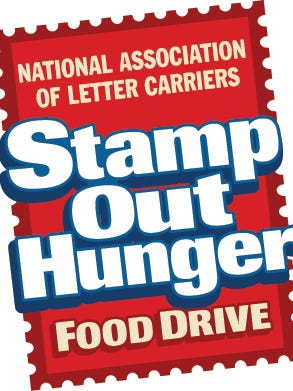 More than 23,000 pounds of food was collected last weekend as part of the annual Stamp Out Hunger food drive.