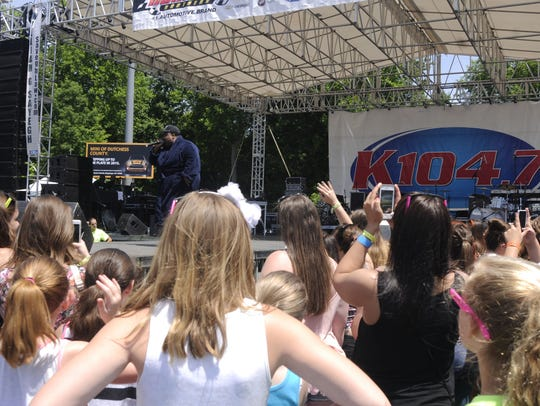 LunchMoney Lewis performs at KFest 2015 at Dutchess