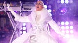 """Singer Christina Aguilera teases her upcoming Las Vegas residency and says she'll be ringing other Sin City performers to find out """"the real juice"""" about the gambling town. (Jan. 30)"""
