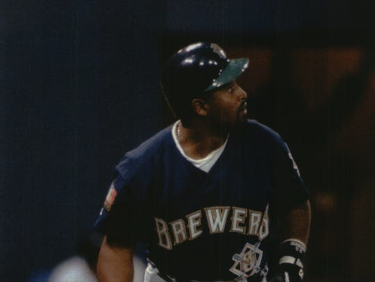Greg Vaughn was the first Brewers player to compete