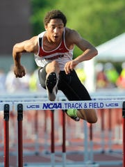 Seymour senior Marcus Cornelius is second on the boys area outdoor track and field honor roll for both the 110- and 300-meter hurdles.