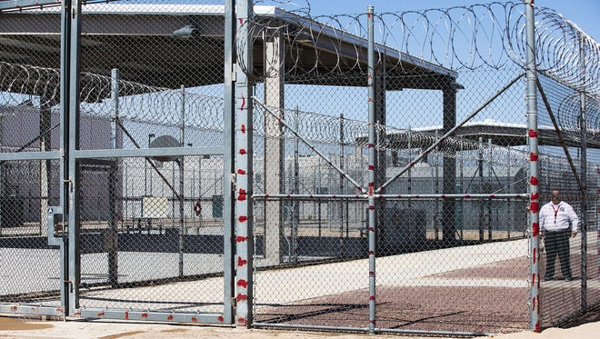 The state Department of Corrections has begun a criminal investigation into the inmates who rioted Sunday at Red Rock Correctional Center in Eloy, leavinga dozen inmates and two officers injured.