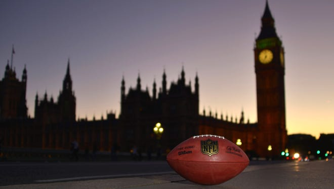 London will be hosting its 12th NFL game in nine seasons on Sunday.