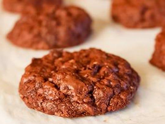 Gluten-free Chocolate Nut Cookies