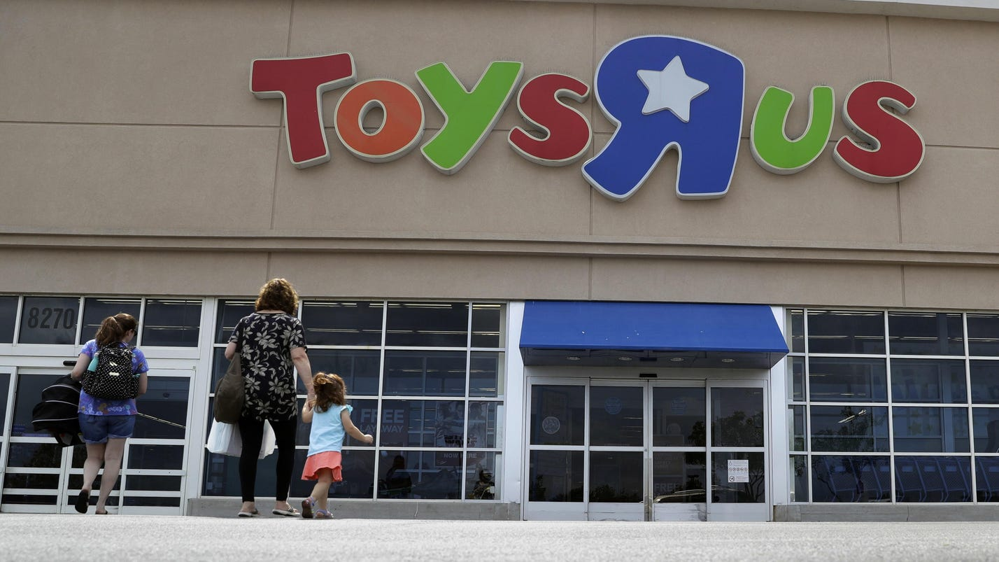 Toys 'R' Us considering closing at least 100 stores