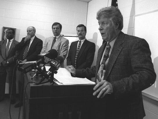 Former Ingham County Prosecutor Donald Martin heads