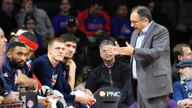 Pistons coach Stan Van Gundy says he shouldn't have given his players a day off Saturday or allowed them to miss a shoot-around Sunday due to weather.