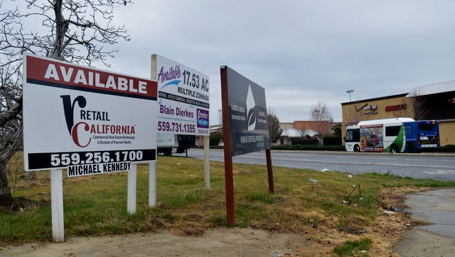 Northwest Visalia is booming with new development. Retail space is available in land around the Orchard Walk shopping center.
