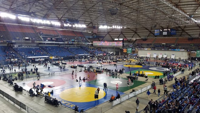 The 2017 Mat Classic at the Tacoma Dome.