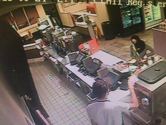 Female Suspect Subway 2